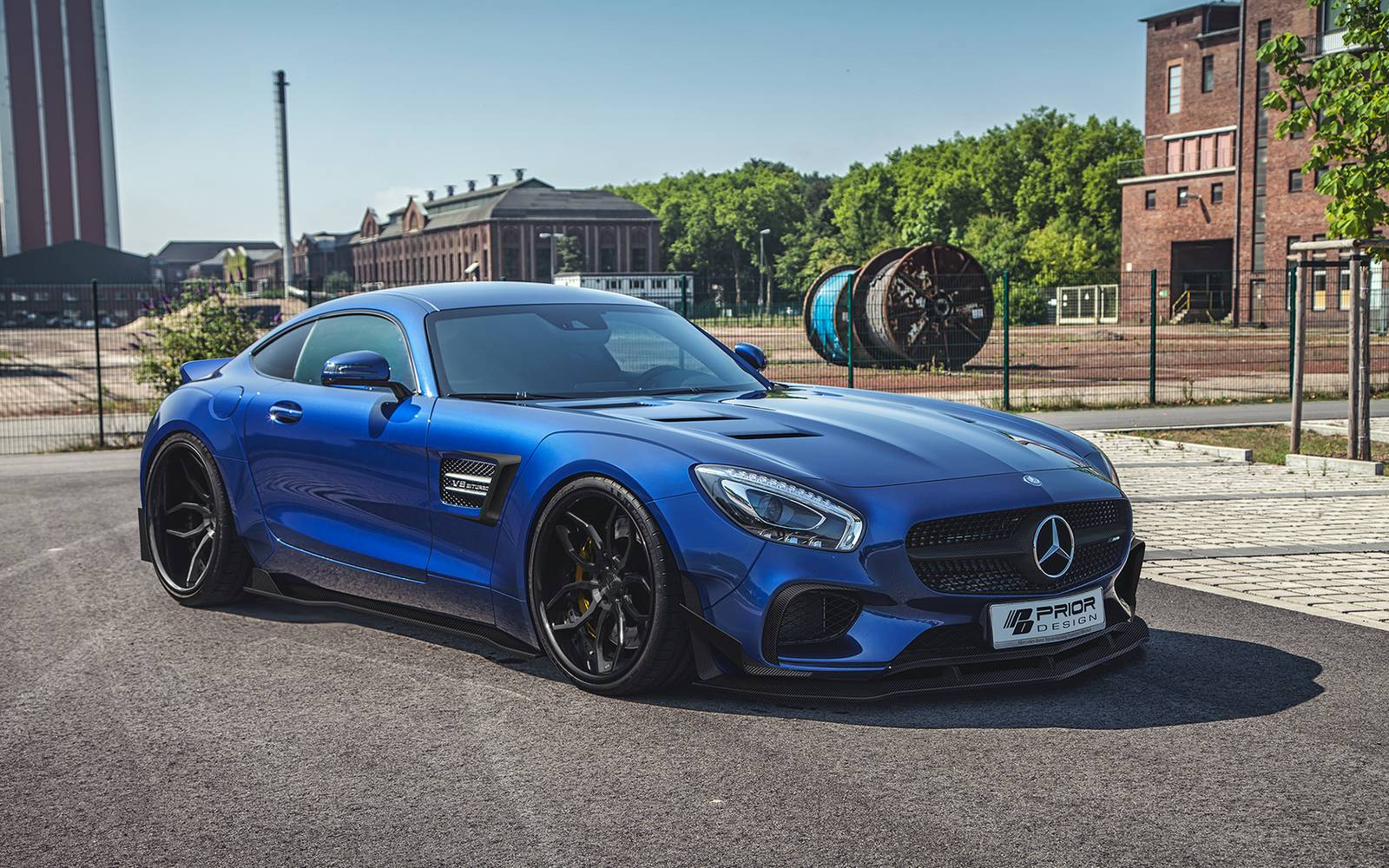 official mercedes amg gt widebody by prior design gtspirit. Black Bedroom Furniture Sets. Home Design Ideas