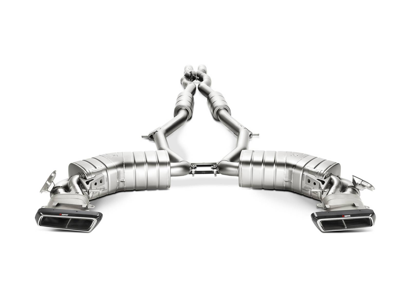 akrapovic launches mercedes