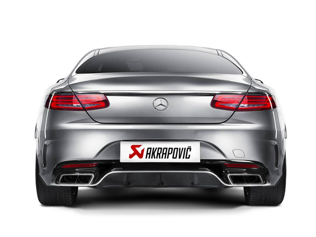 Mercedes-AMG_S_63_AMG_Coupe by Akrapovic