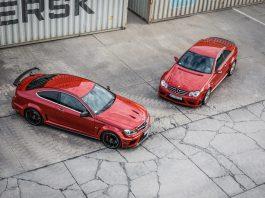 Mercedes-Benz C63 AMG and CLK63 AMG