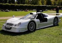 Mercedes-Benz CLK LM front