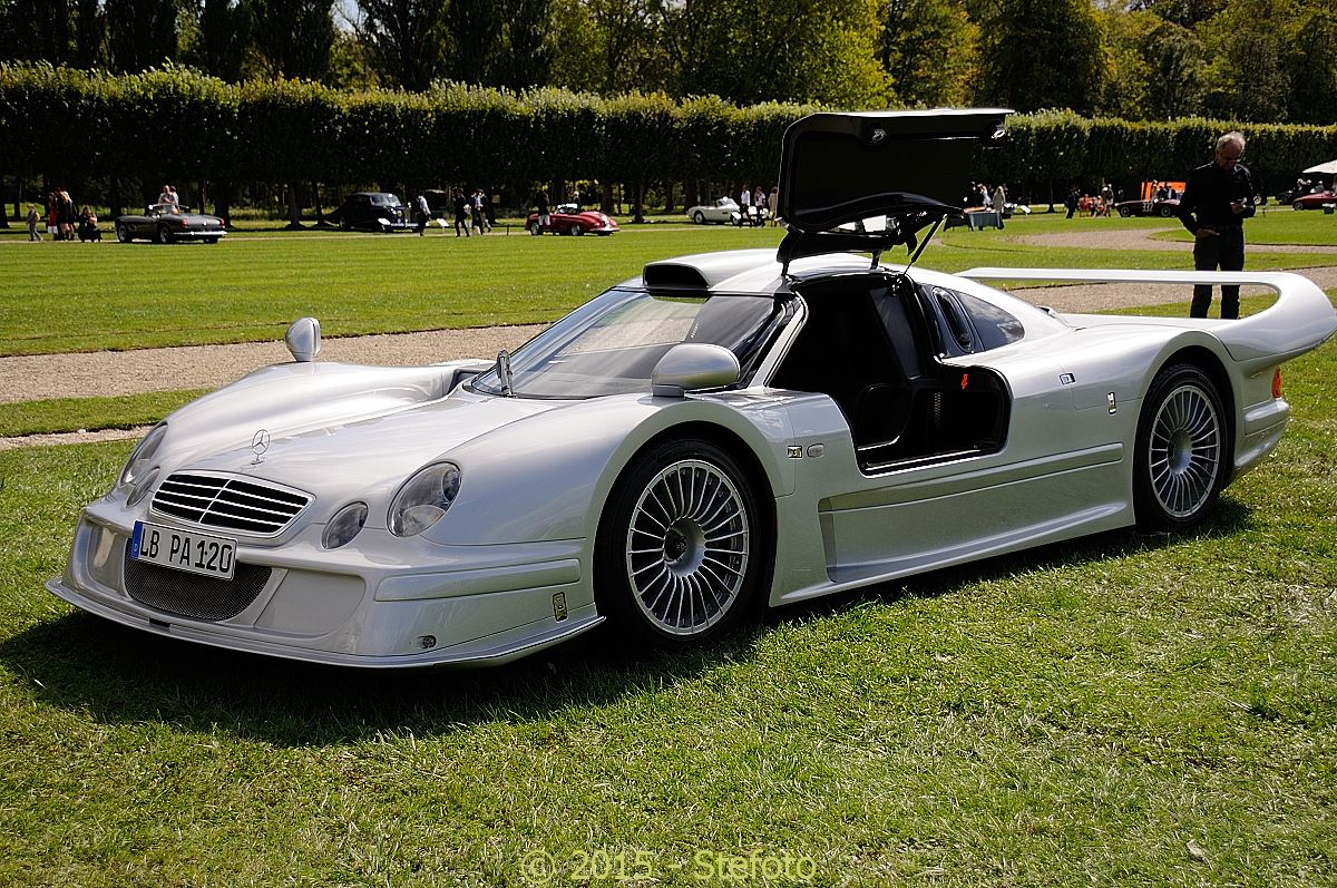 Rare mercedes benz clk lm shown at chantilly 2015 gtspirit for Mercedes benz clk
