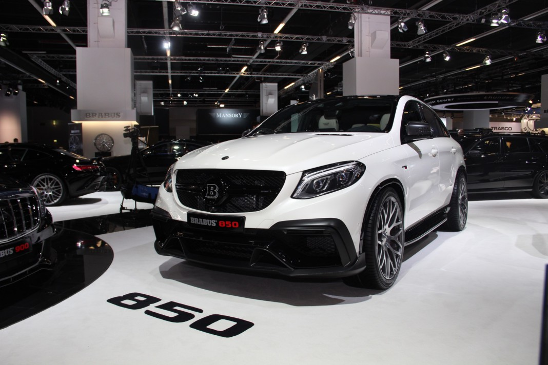 Frankfurt 2015 brabus mercedes benz gle850 gtspirit for Mercedes benz frankfurt