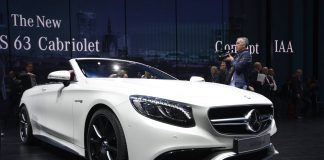 Mercedes-Benz S Class Cabrio
