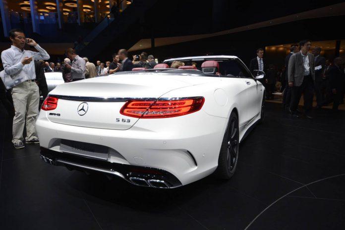 Mercedes-Benz S Class Cabrio rear
