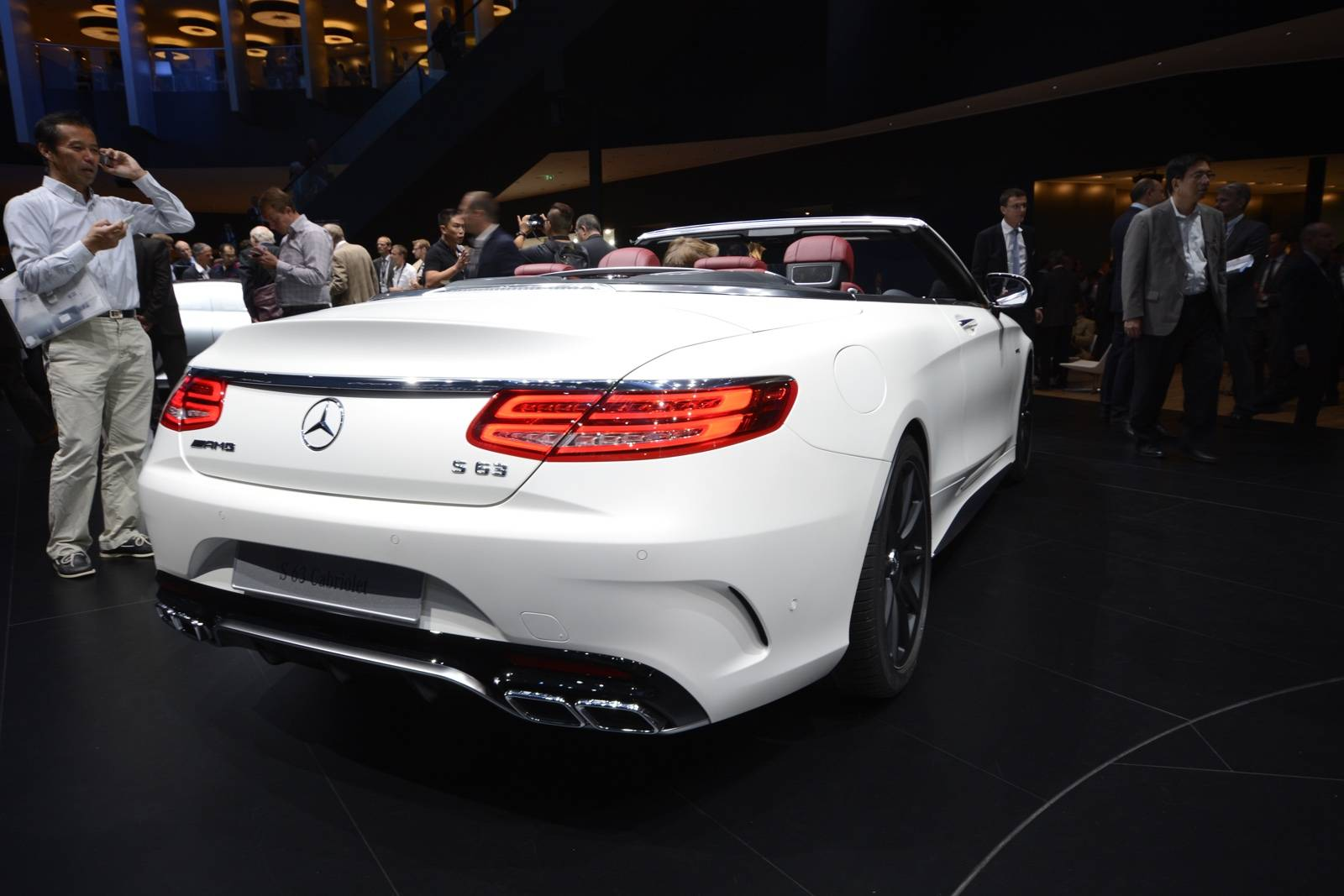 Frankfurt 2015 mercedes benz s class cabriolet gtspirit for Mercedes benz frankfurt