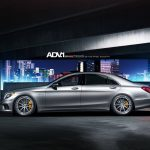 Mercedes-Benz S63 AMG side view ADV.1 Wheels