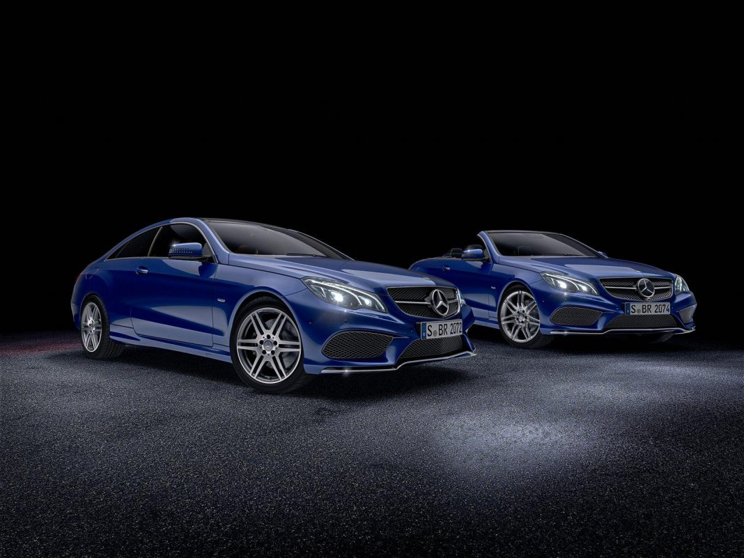 Mercedes E-Class V8 Edition and Sport Edition