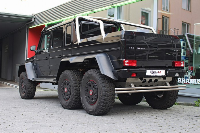 Mercedes G63 AMG 6x6 for sale rear