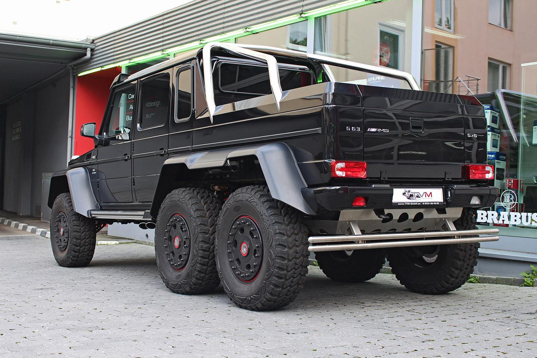 Black Mercedes Benz G63 Amg 6x6 For Sale Gtspirit