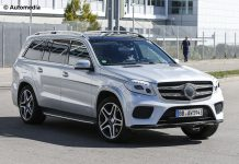 Mercedes-Benz GLS spy shot