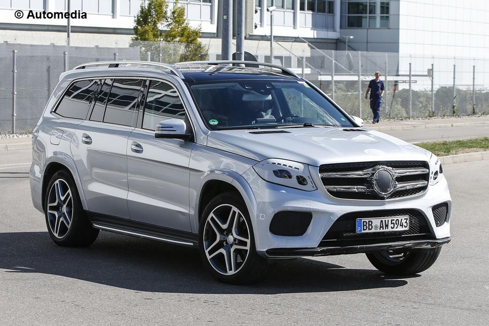 Mercedes-Benz GLS spy shot