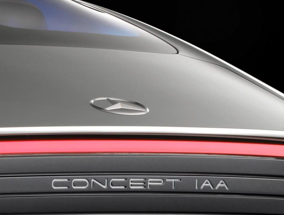 Mercedes-Benz IAA Concept teased