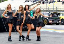 Monster Energy Girls Rallycross