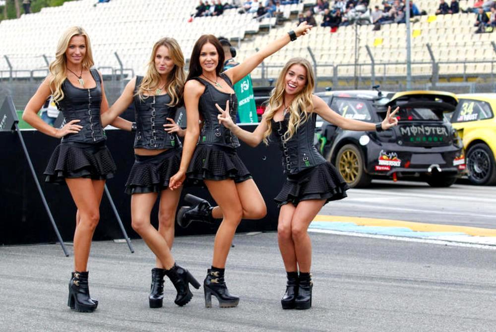 Monster Energy Girls Rallycross