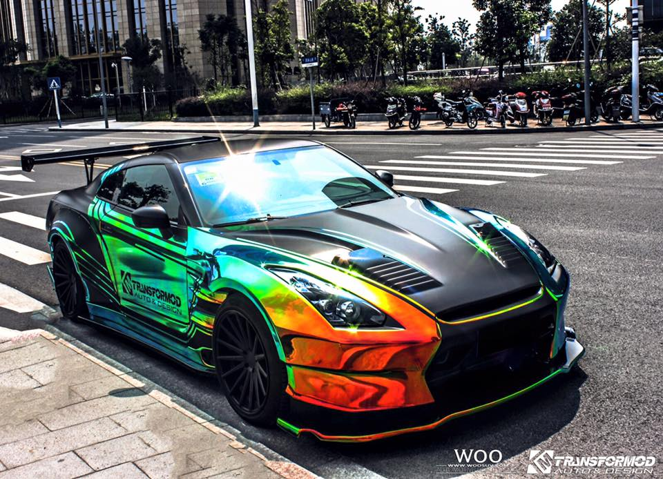 Crazy Nissan GT-R Bensopra