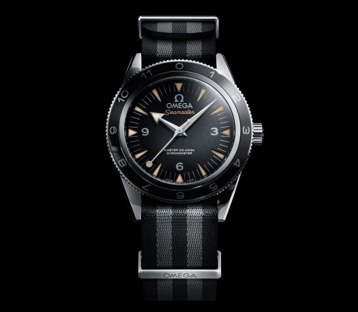 Omega Seamaster Spectre front
