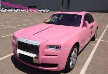 Pink Rolls-Royce Ghost delivered in China