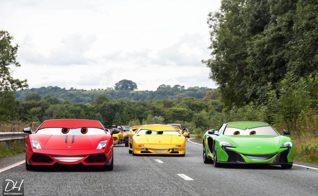 Pixar Cars Rendering
