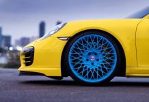 Porsche 911 Turbo S HRE