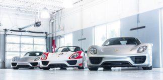 Porsche 918 Spyder groupe