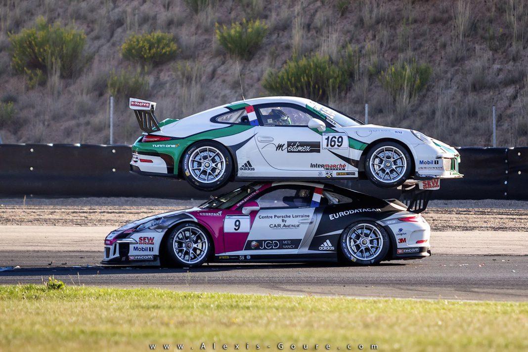 Porsche lands on Porsche at Carrera Cup France