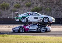 Porsche lands on Porsche at Carrera Cup France