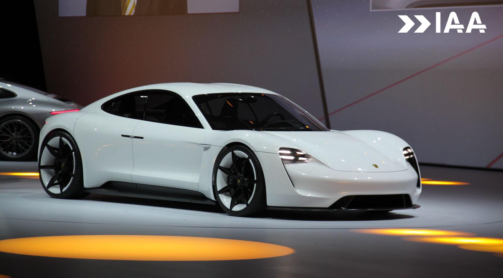 Frankfurt 2015 Porsche Mission E Concept Gtspirit