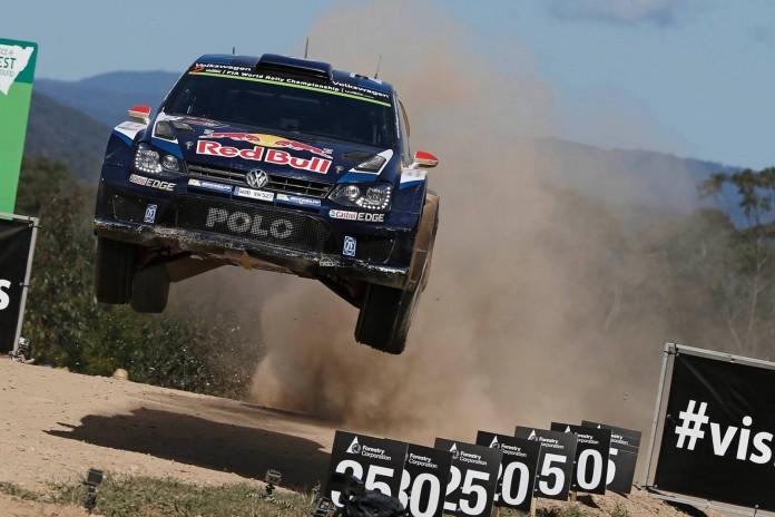 VW Polo R WRC Rally Australia 2015