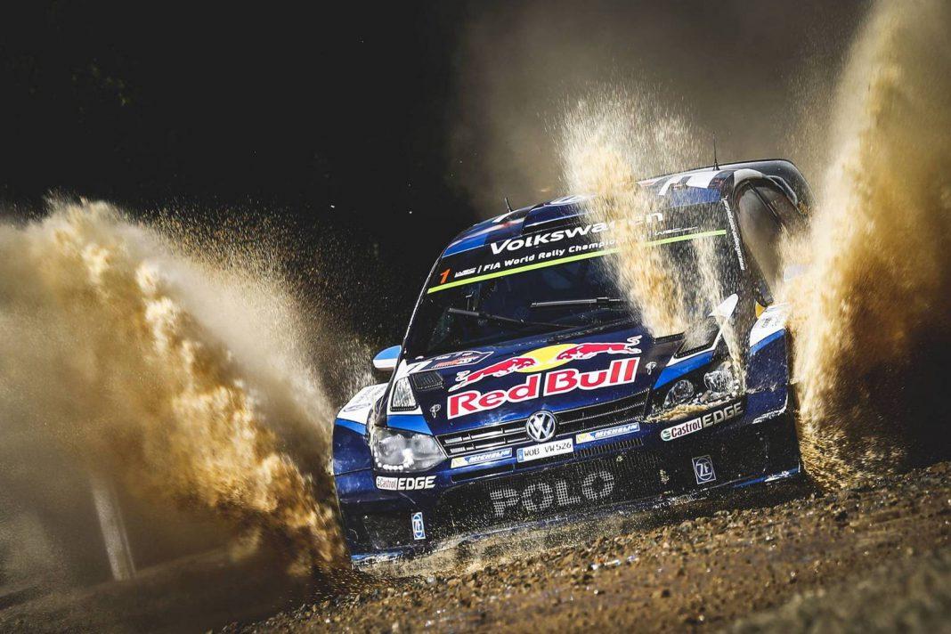 Sebastien Ogier VW Polo R WRC