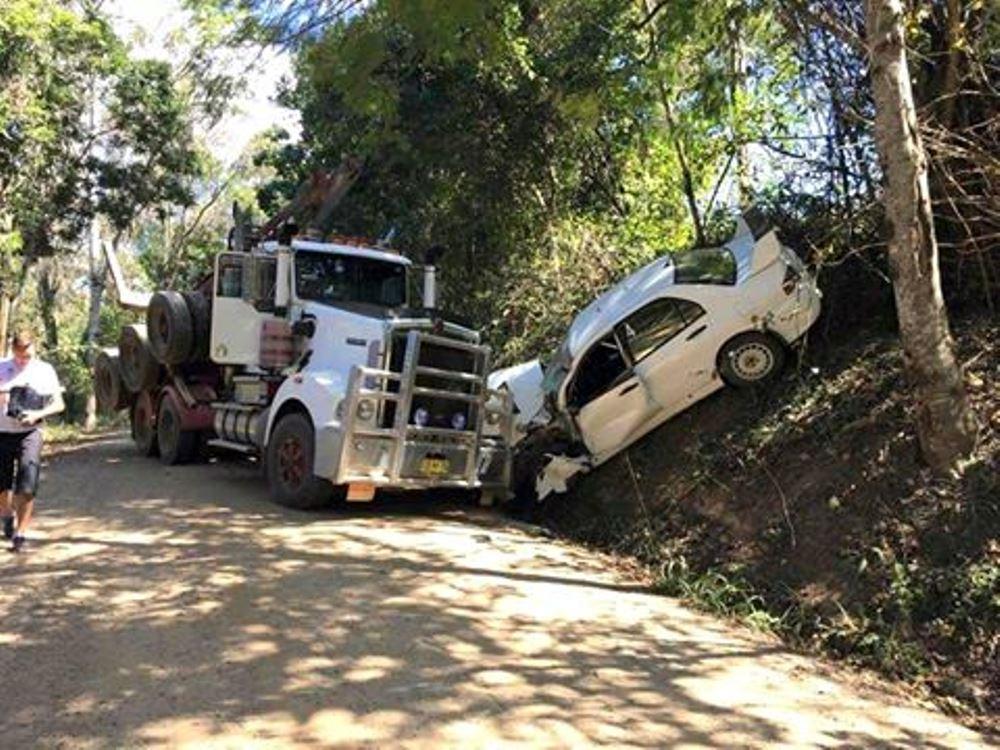 Rally Australia Crash Mads Ostberg
