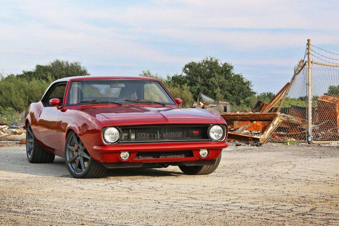 1968 Chevrolet Camaro restored