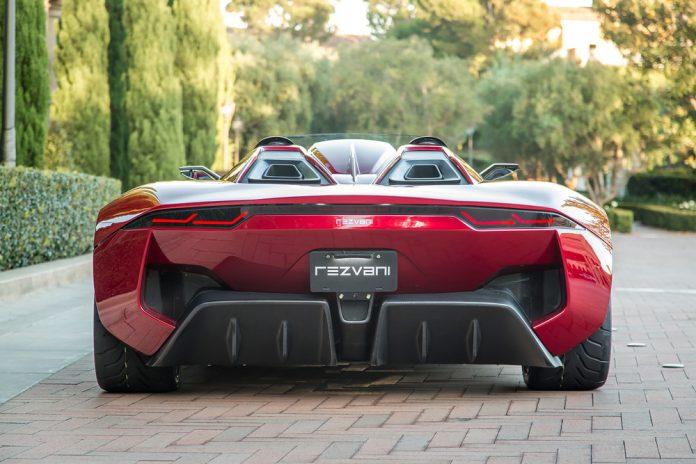 Rezvani Beast Speedster rear