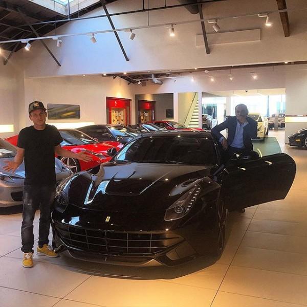 Ferrari F8 Tributo Imagined As A Spider: Rob Dyrdek Selling Ferrari F12 For 488 GTB