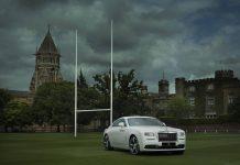 Rolls-Royce Wraith Rugby Edition