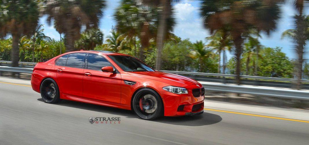 Sakhir Orange BMW M5