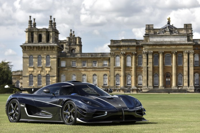 Salon Prive 2015 Koenigsegg One1