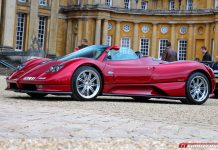 Pagani Zonda Roadster at Salon Prive 2015