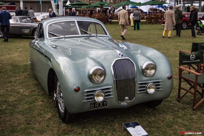 Talbot Lago T27 at Salon Prive 2015