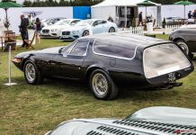 Ferrari Shooting Brake at Salon Prive 2015