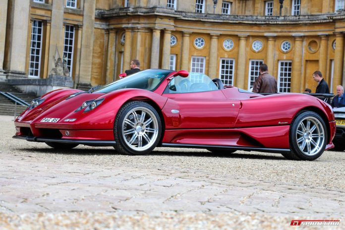 Salon Prive Pagani Zonda S Roadster