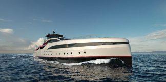 Sea Falcon superyacht by Mondomarine