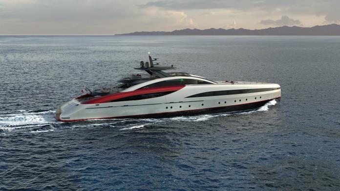 SeaFalcon mega yacht