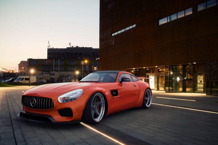 GWA Mercedes-AMG GT
