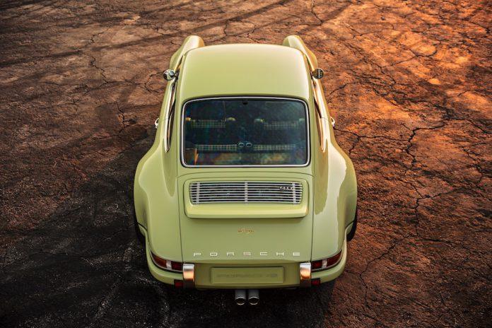 Porsche 911 Coupe Manchester by Singer top