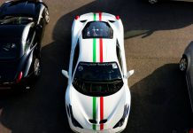 White Ferrari 458 Speciale
