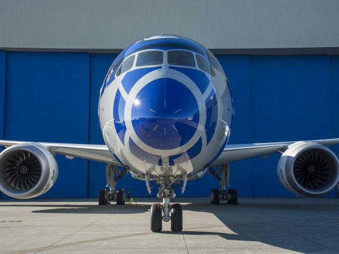 Star Wars Boeing Dreamliner