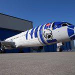 R2-D2 Star Wars Boeing Dreamliner