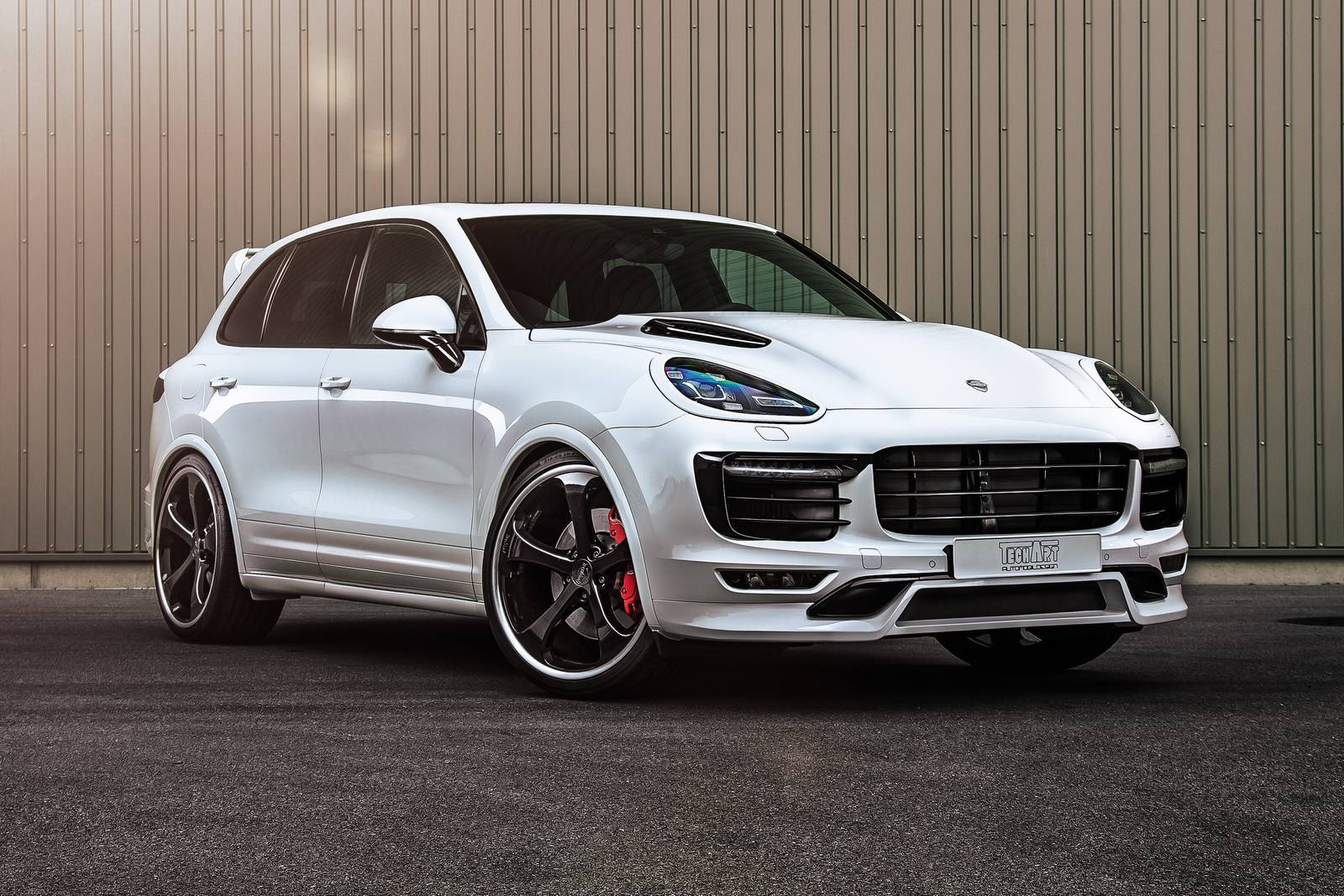 Techart Upgrades Porsche Cayenne Turbo To 700hp Gtspirit