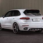 Techart Porsche Cayenne Turbo Rear
